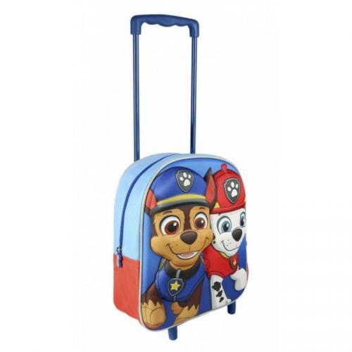 Tlapková Patrola 3D batoh na kolečkách