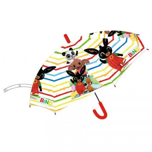 Deštník králíček Bing transparentní