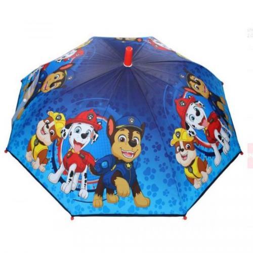 Deštník Tlapková Patrola modrý