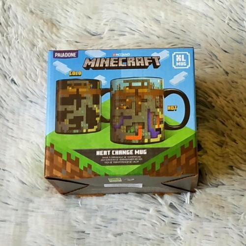 Minecraft  proměňovací keramický hrnek