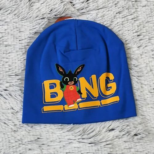 Čepice králíček Bing tm. modrá 54