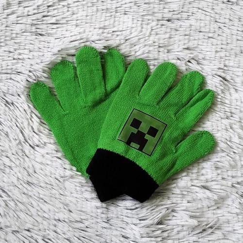 Minecraft rukavice zelené