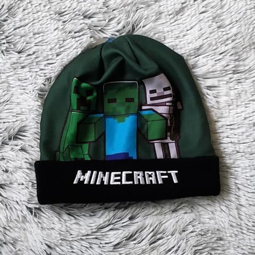 Minecraft zimní čepice 54