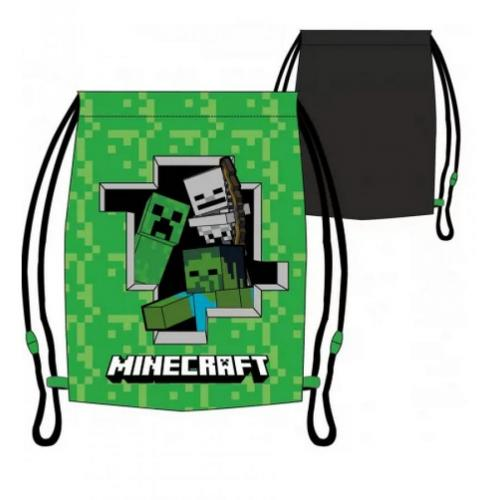 Vak Minecraft se stahující šňůrkou