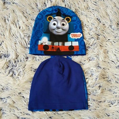 Čepice Mašinka Thomas tmavě modrá
