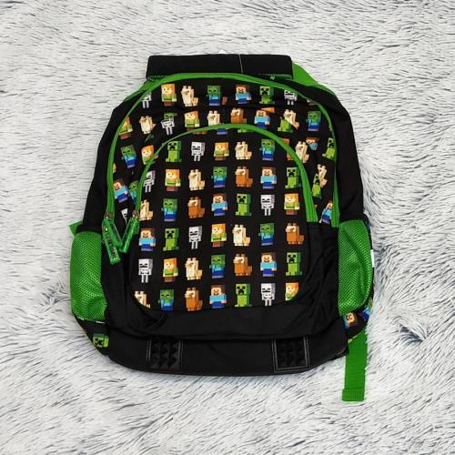 Minecraft školní batoh