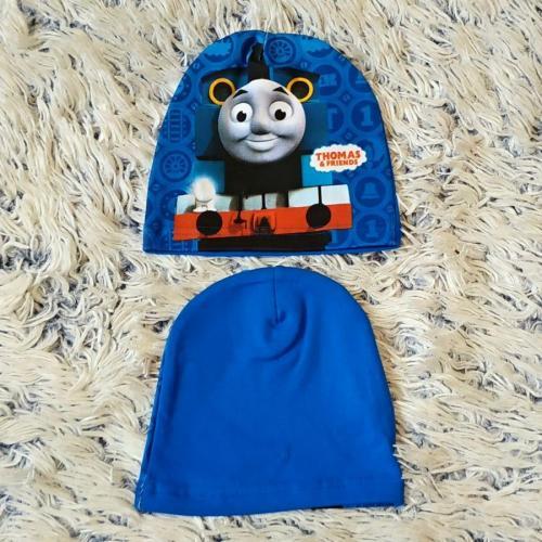 Čepice Mašinka Thomas modrá