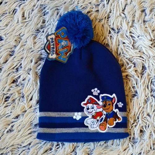 Zimní čepice Tlapková Patrola