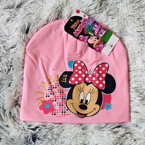 Jarní čepice Minnie světle růžová