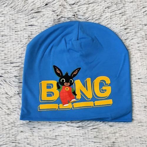Čepice králíček Bing sv. modrá 54