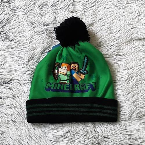 Minecraft zimní čepice 56