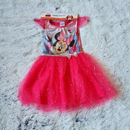 Minnie šaty s nabíranou sukní vel. 110