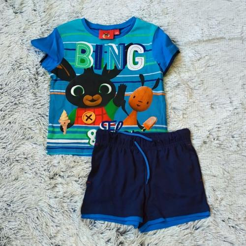 Králíček Bing tričko a kraťasy vel. 116