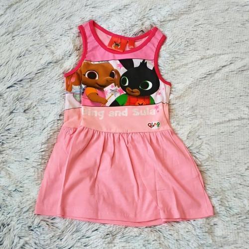Letní šaty Bing růžové 116