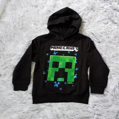 Minecraft mikina s kapucí 140