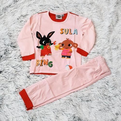 Králíček Bing pyžamo sv. růžové 116