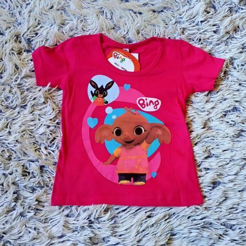 Tričko Bing růžové