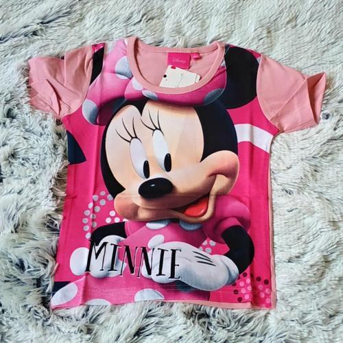 Tričko Minnie růžové 128