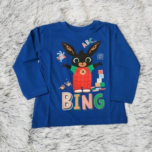 Králíček Bing tričko tm. modré vel. 122