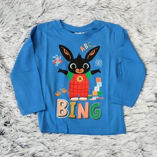 Králíček Bing tričko sv. modré vel. 122
