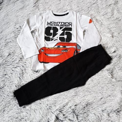 Pyžamo McQueen bílé 128