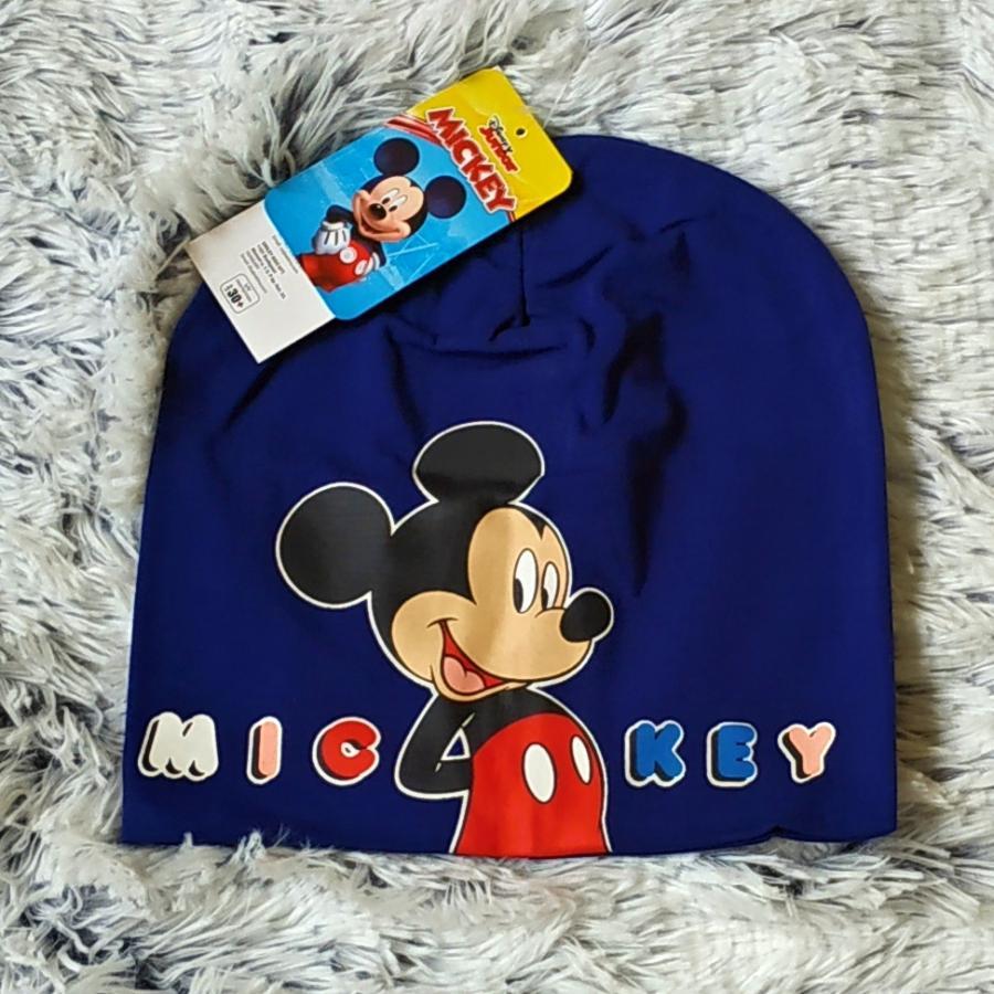 Jarní čepice Mickey tmavě modrá