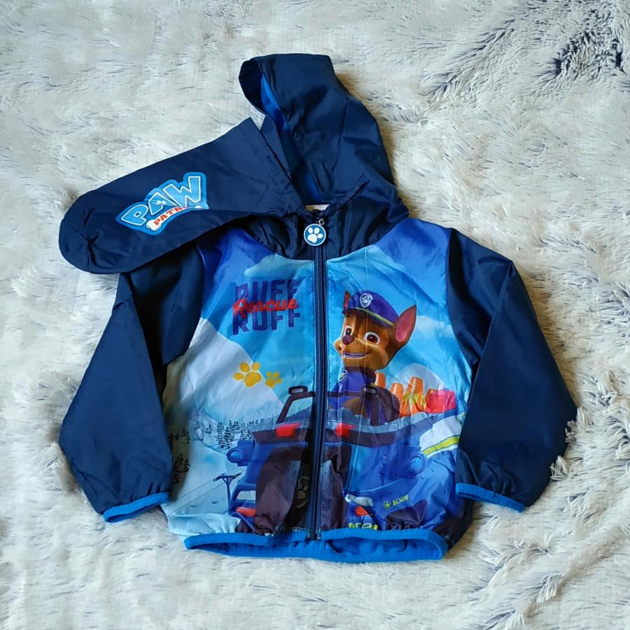 Tlapková Patrola bunda jaro/podzim modrá 98