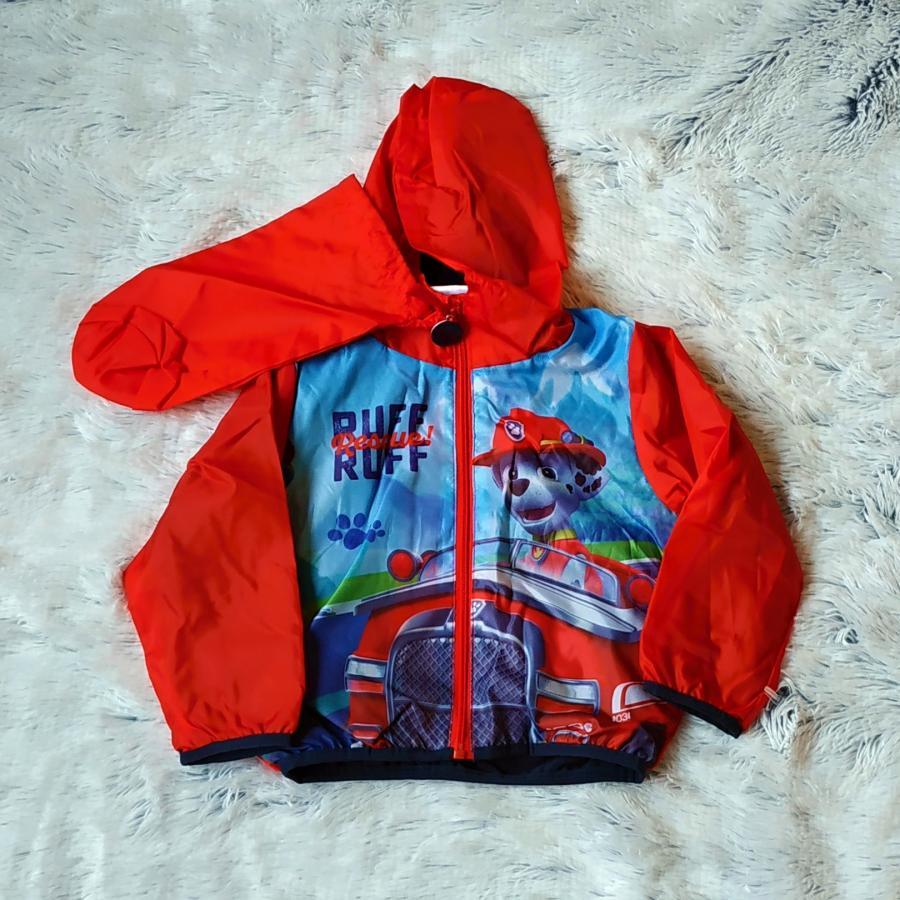 Tlapková Patrola bunda jaro/podzim červená 98