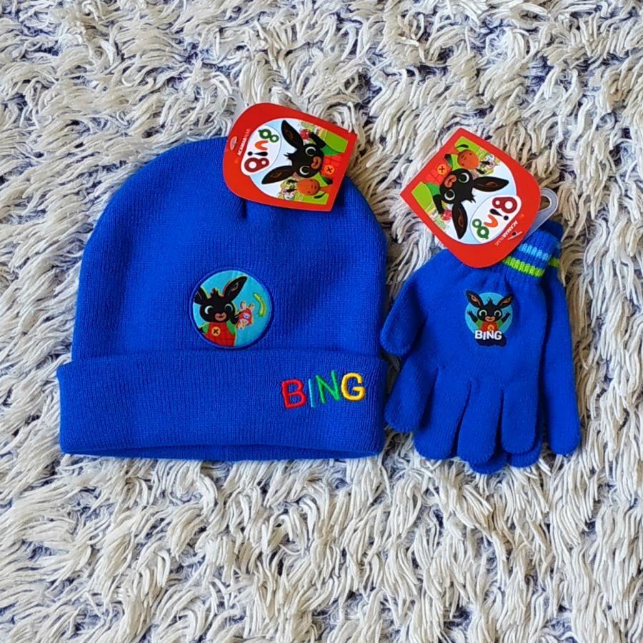 Set Králíček Bing čepice a rukavice  52