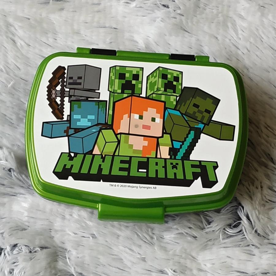 Minecraft svačinový box