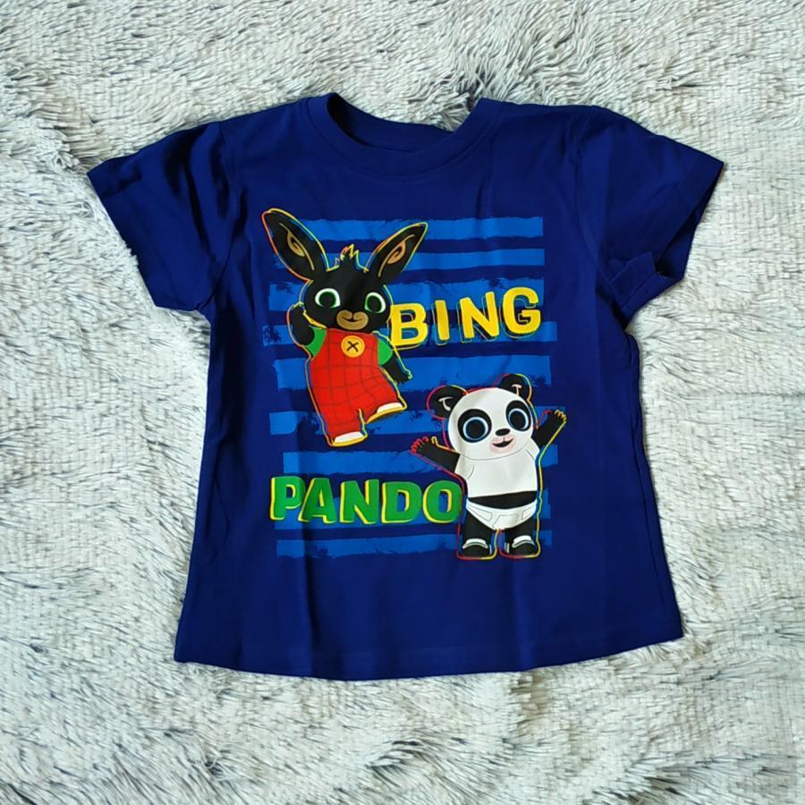 Králíček Bing tričko Bing a Pando 104
