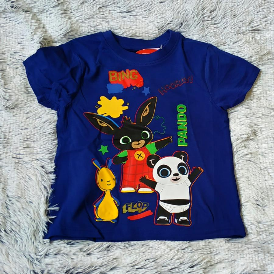 Králíček Bing tričko Bing a Pando a Flop 104