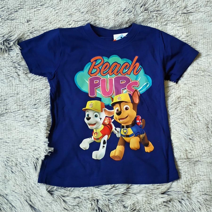 Tlapková Patrola tričko Beach Pups 98