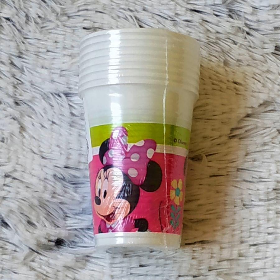Minnie plastové kelímky