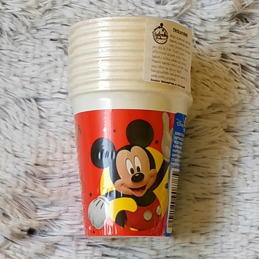 Mickey papírové kelímky