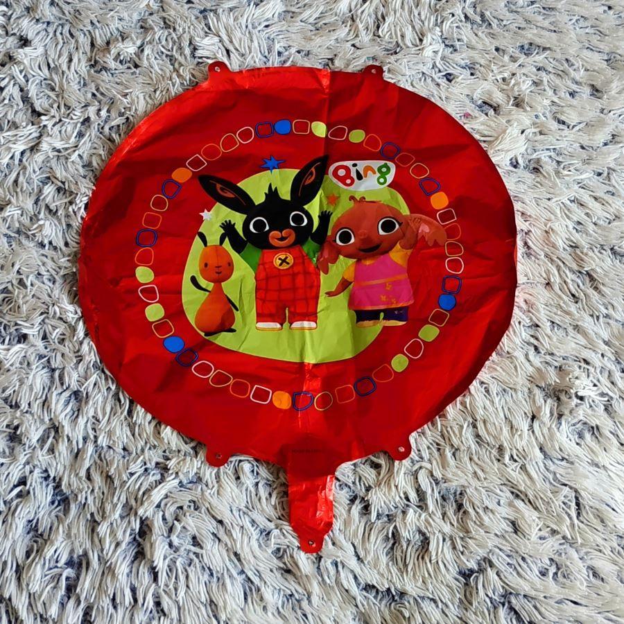 Králíček Bing fóliový balónek kulatý