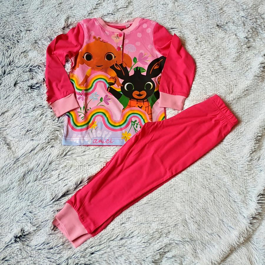 Králíček Bing pyžamo růžové 98