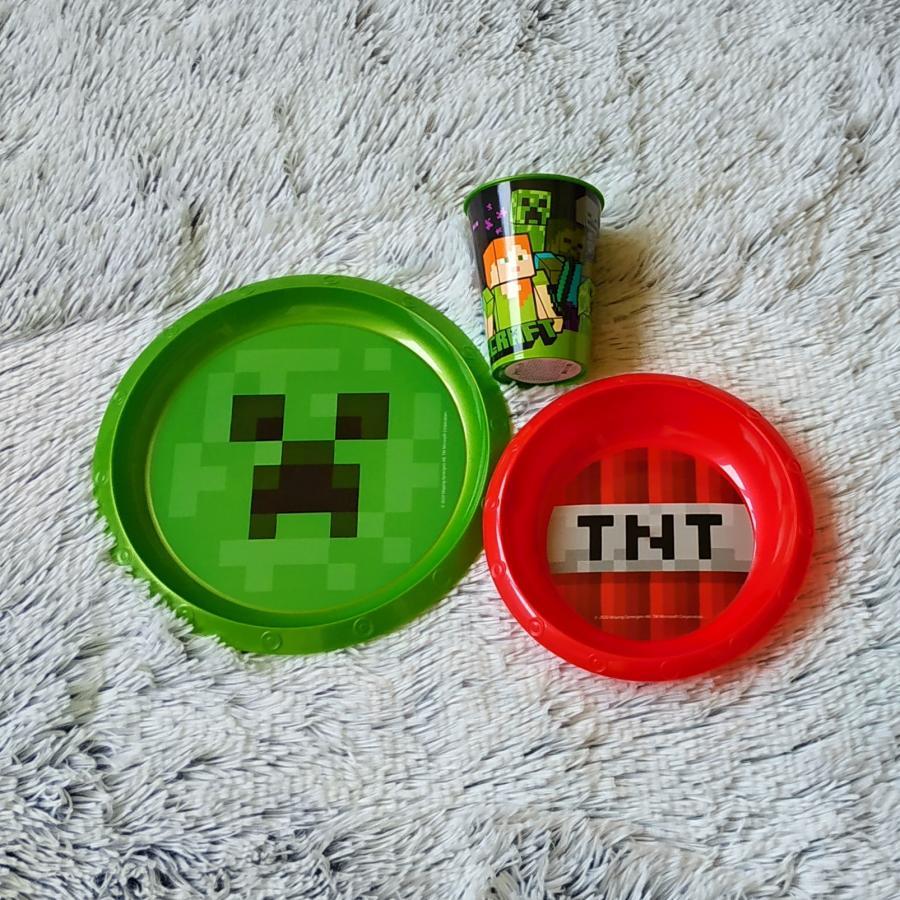 Minecraft jídelní sada