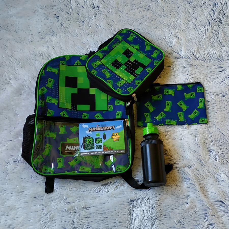 Minecraft batoh Creeper set