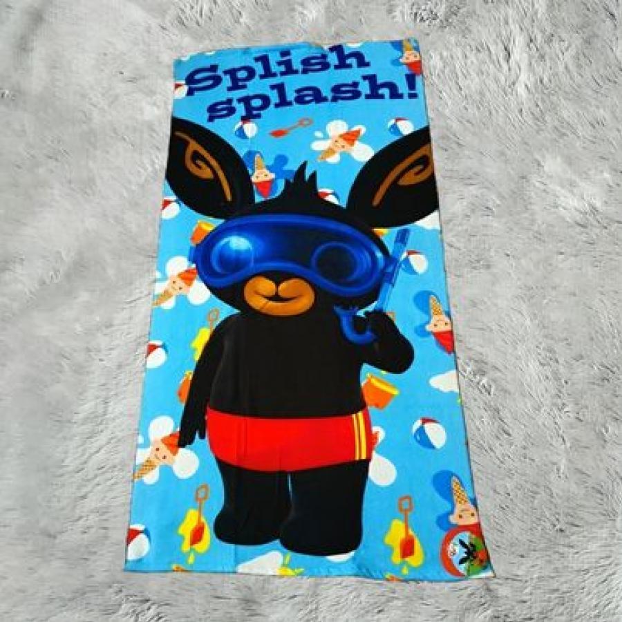 Králíček Bing osuška modrá