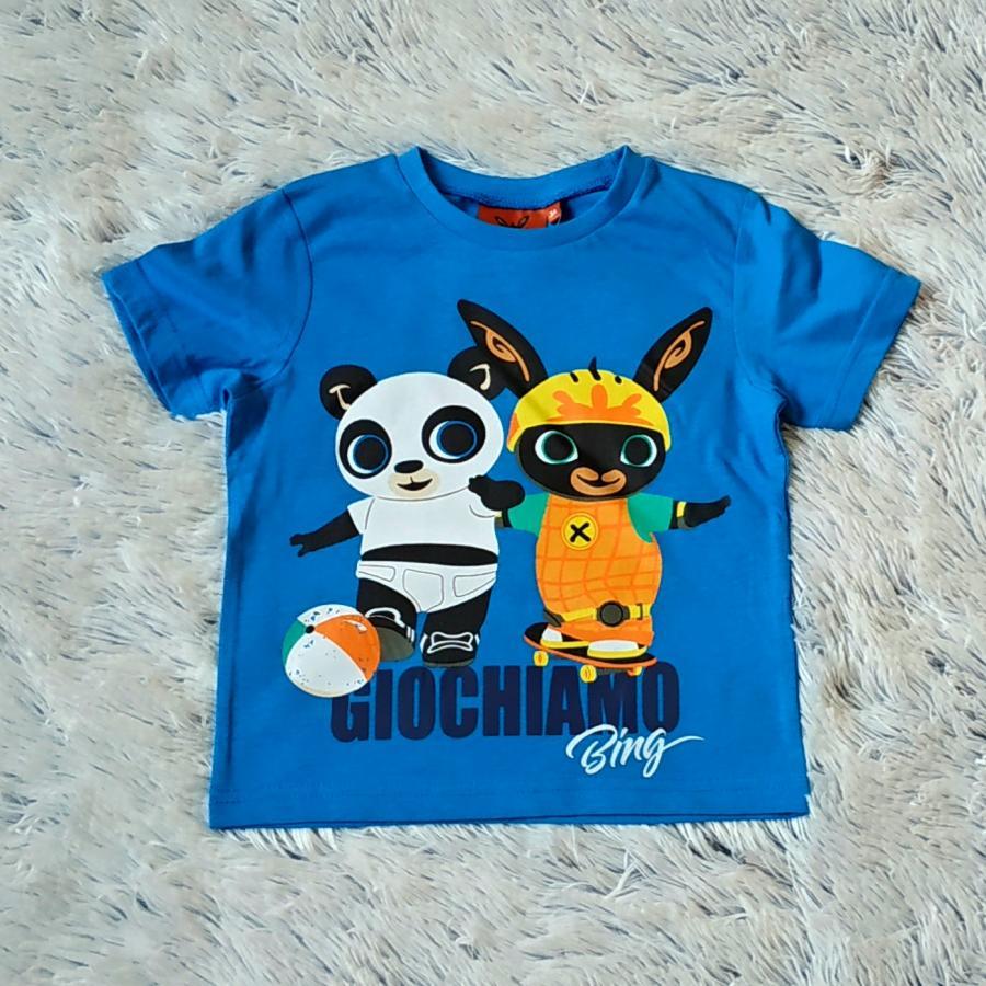Králíček Bing tričko Bing a Pando 98