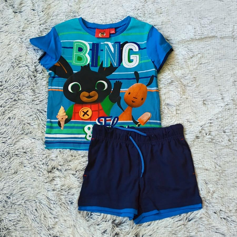 Králíček Bing tričko a kraťasy vel. 98