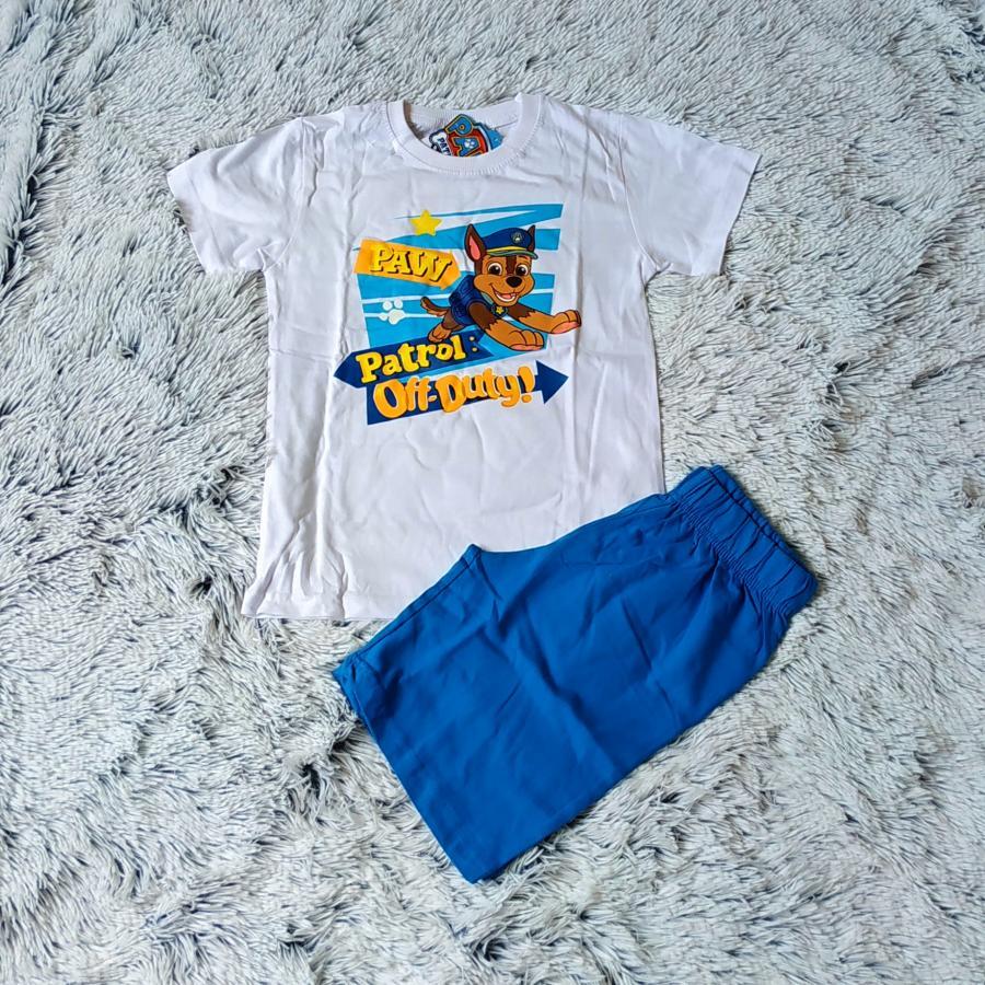 Letní pyžamo Tlapková patrola vel.116