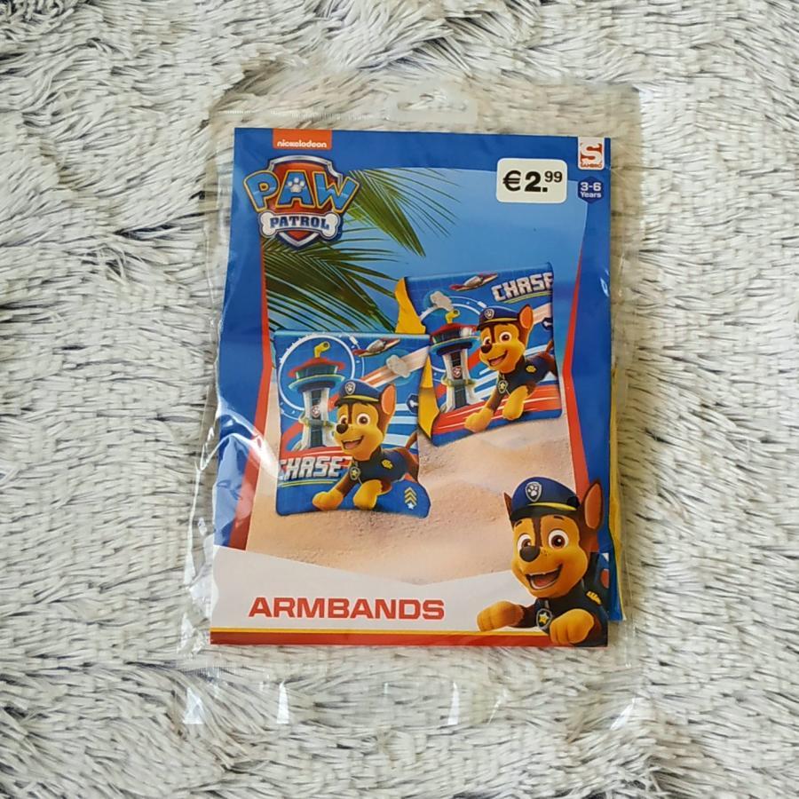 Nafukovací rukávky Tlapková Patrola