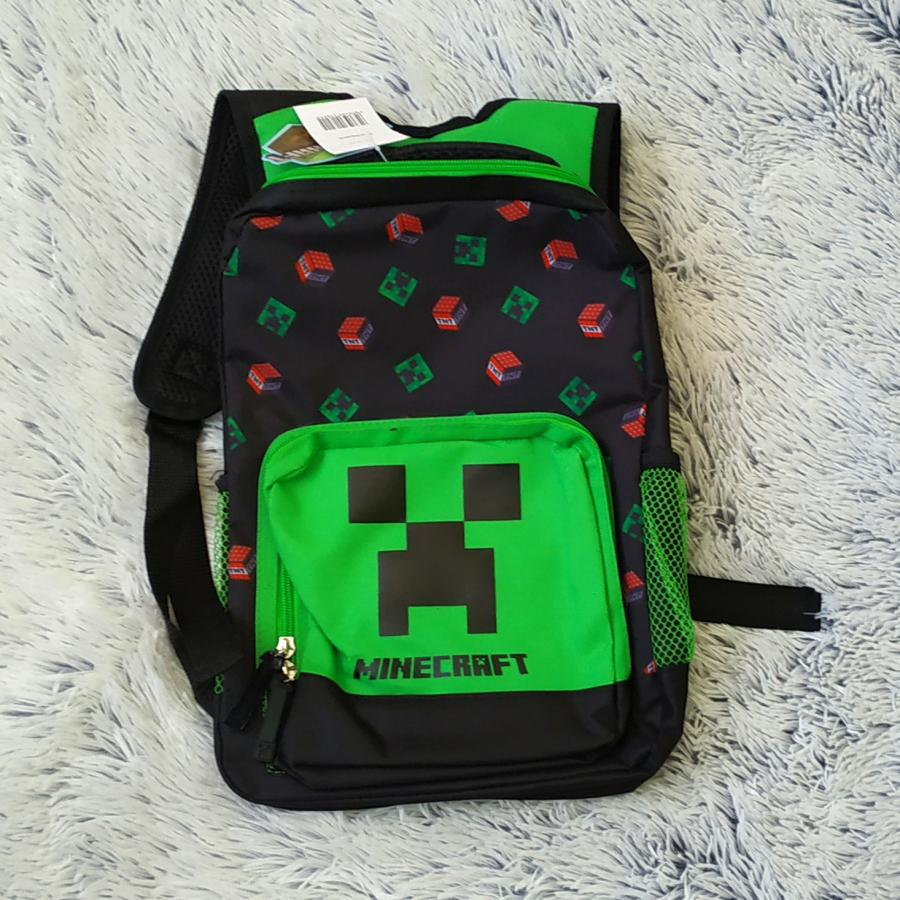 Minecraft  batoh Creeper a TNT