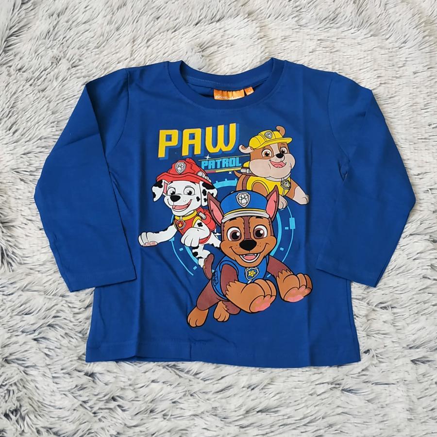 Tlapková Patrola tričko tm. modré vel. 128
