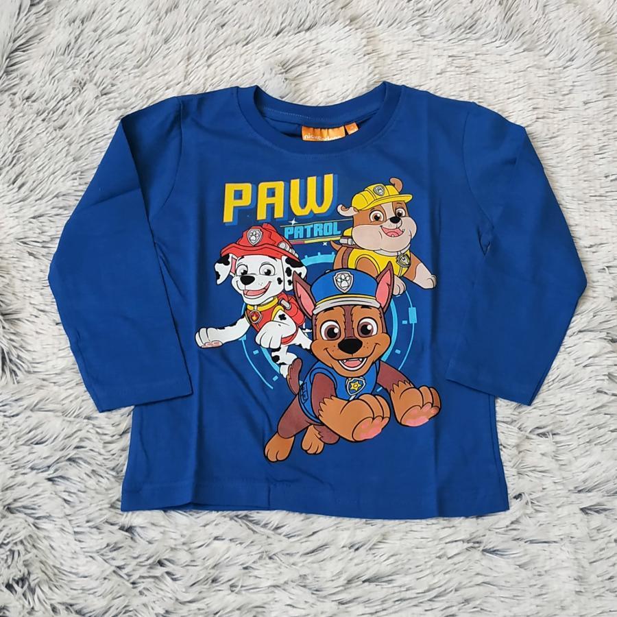 Tlapková Patrola tričko tm. modré vel. 122
