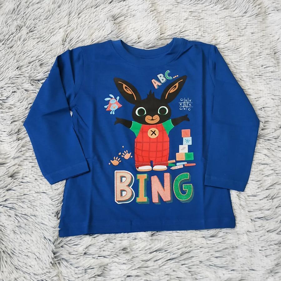Králíček Bing tričko tm. modré vel. 98