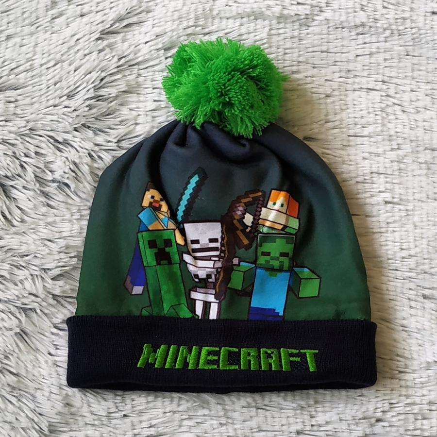 Minecraft zimní čepice 52