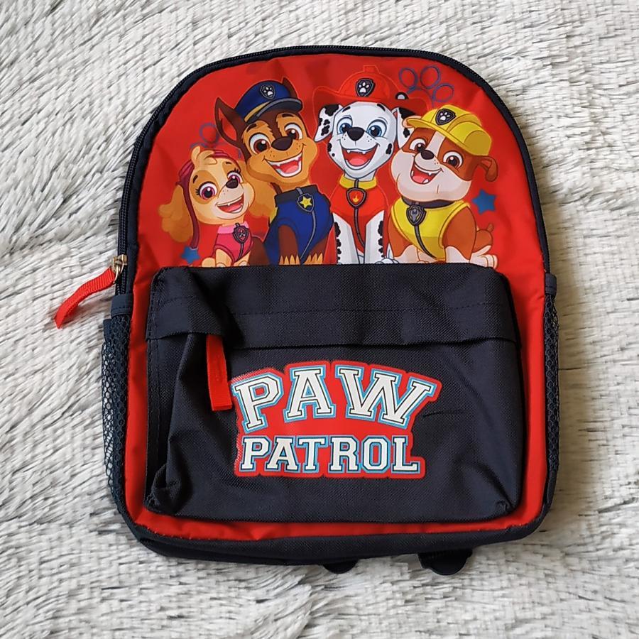 Tlapková Patrola batoh červený